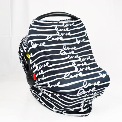 Sunscreen Car Seat Cover - Love