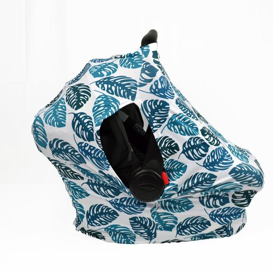 Sunscreen Car Seat Cover - Palm Leaf