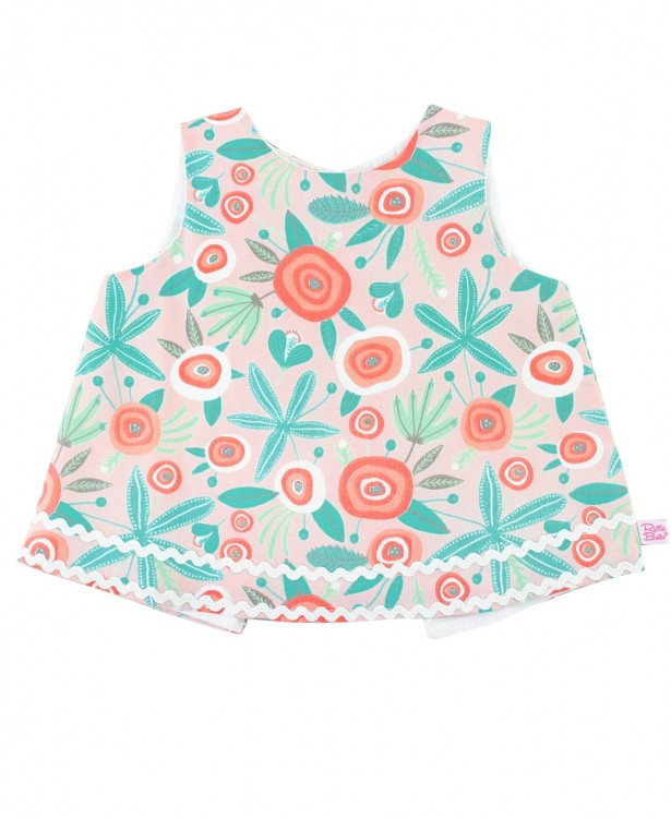 Seaside Floral Swing Top