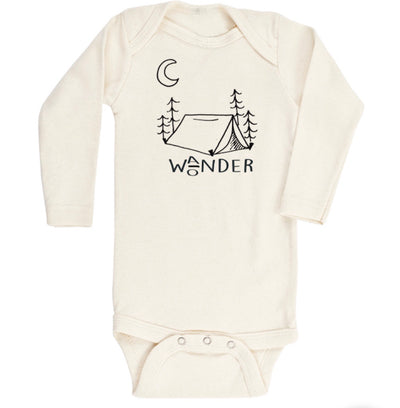 Wander Wonder - Organic Bodysuit - Long Sleeve