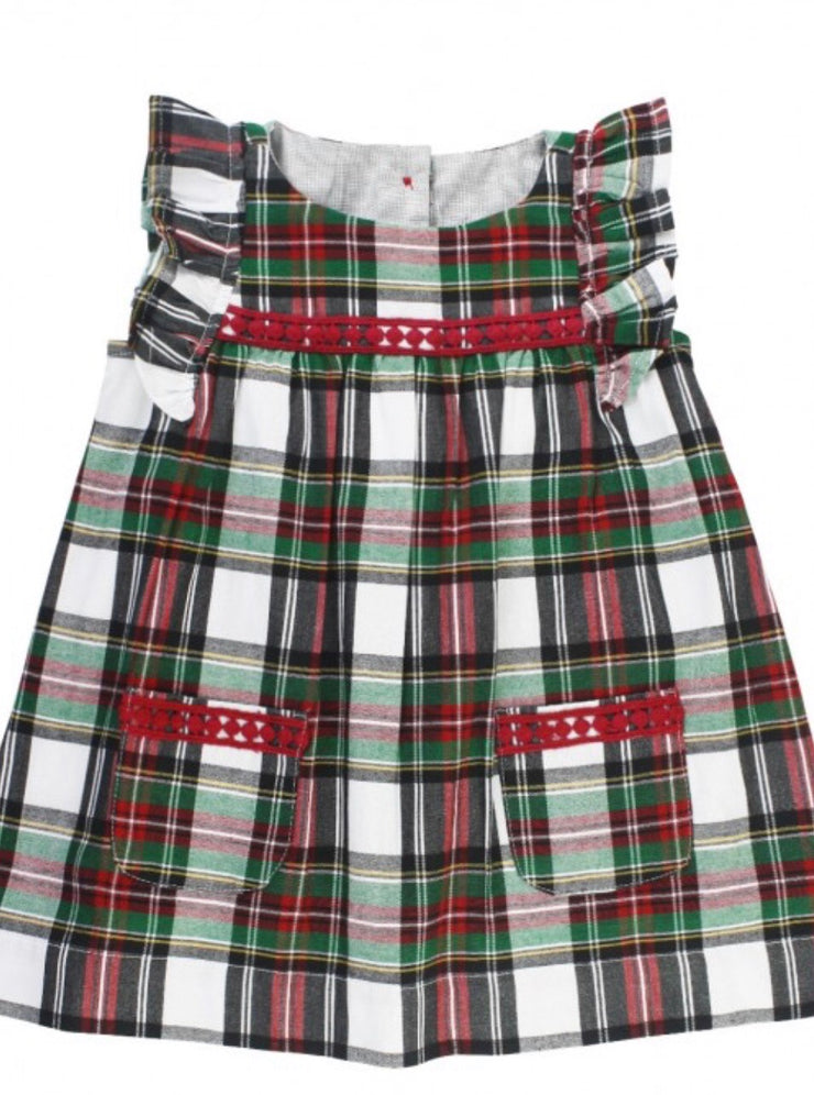 Juniper Plaid Jumper Dress