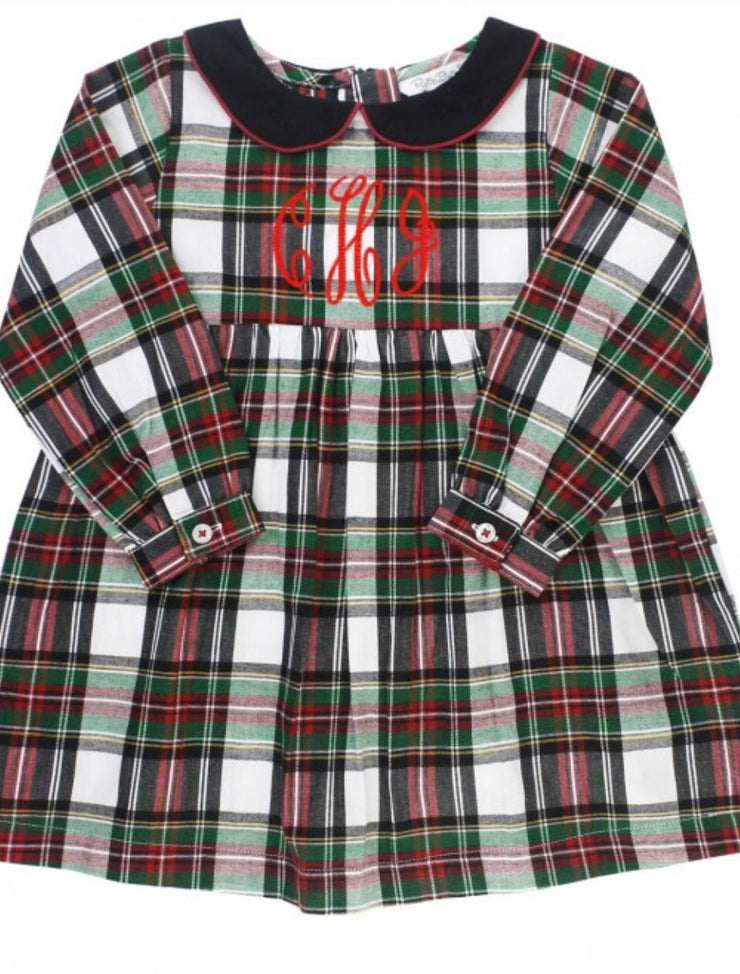 Juniper Plaid Peter Pan Collar Dress