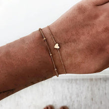 Load image into Gallery viewer, Adjustable Charm Stack Bracelets - The Gyftr: Get access to handpicked gifts from global makers, artists and creatives with a story to share. Free Worldwide shipping!