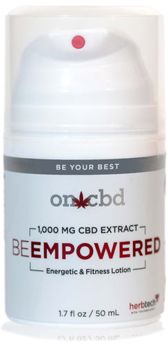 ON CBD: Be Empowered Lotion
