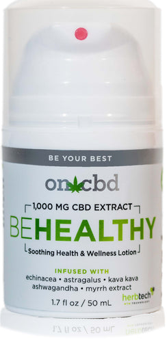 On CBD: Be Healthy Lotion