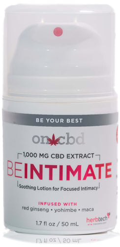 On CBD: Be Intimate Lotion