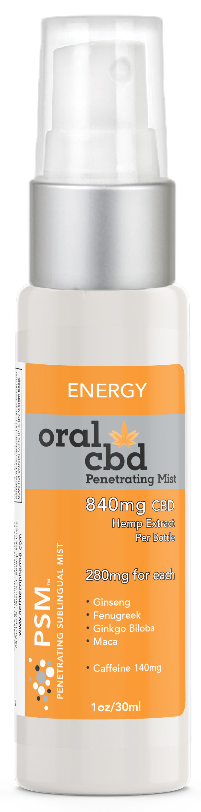 Oral CBD Spray: Energy