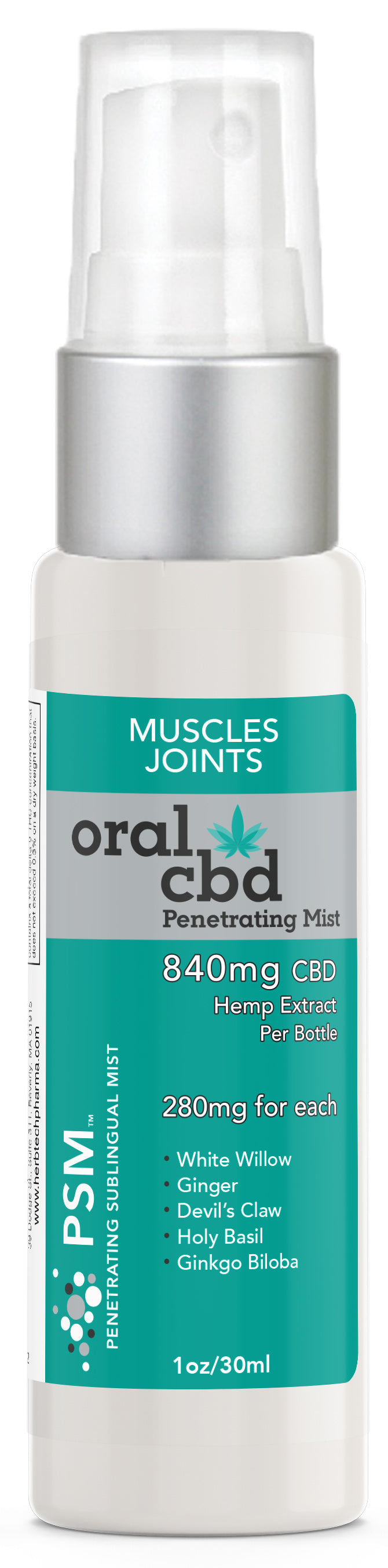 Oral CBD: Muscles & Joints