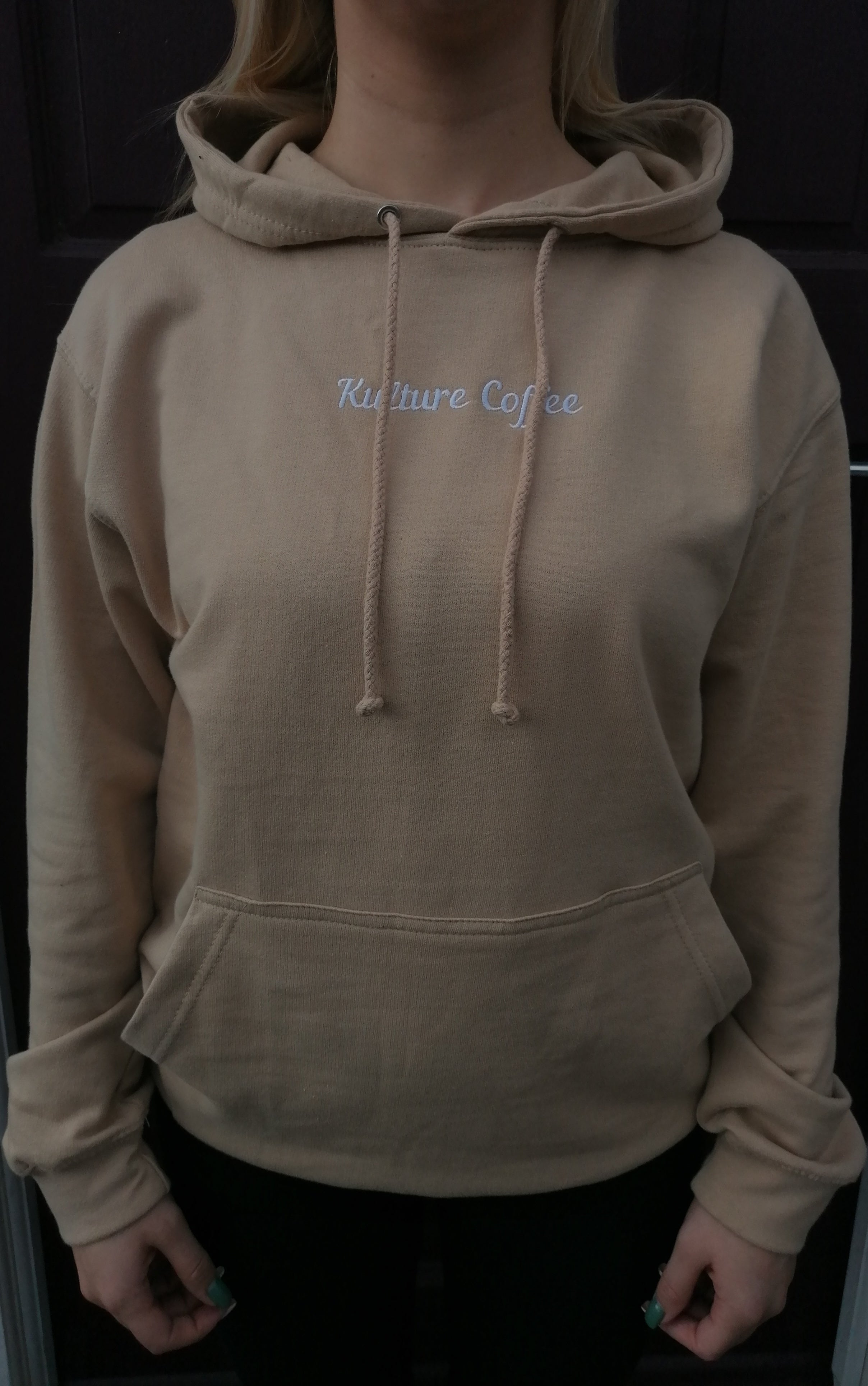 Kulture Coffee Embroidered Hoodie