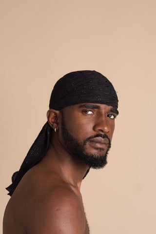 WHY DO BLACK MEN WEAR DURAGS