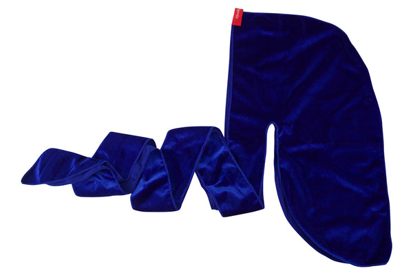 Royal Blue Velvet Durag