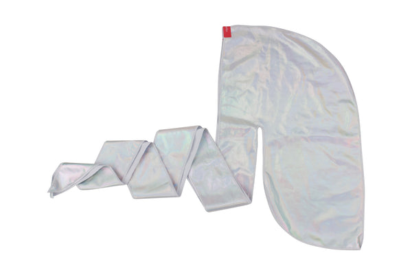Off-White Iridescent Silky Durag