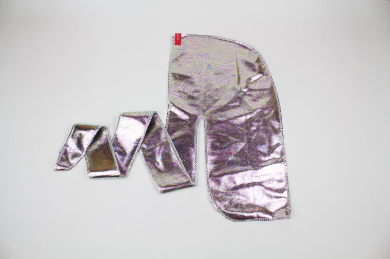 Shiny Water Swirl Metallic Durag