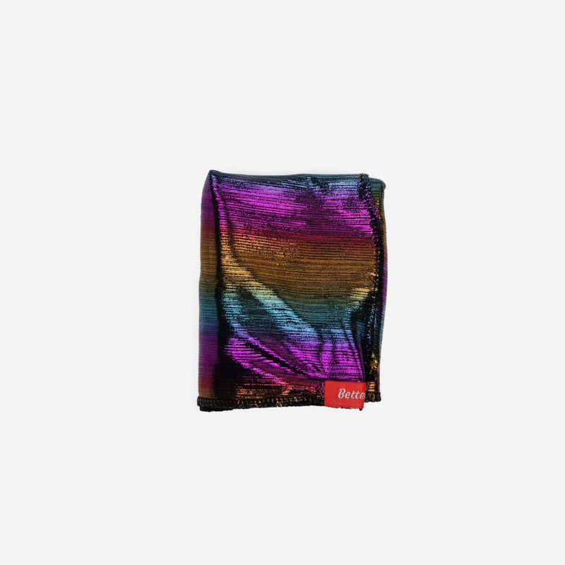 Shiny Rainbow Stretchy Satin Durag