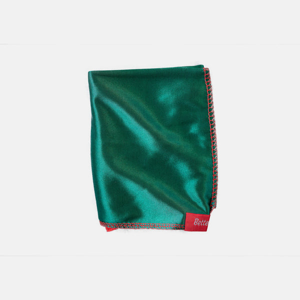 Green and Red Two Tone Silky Durag