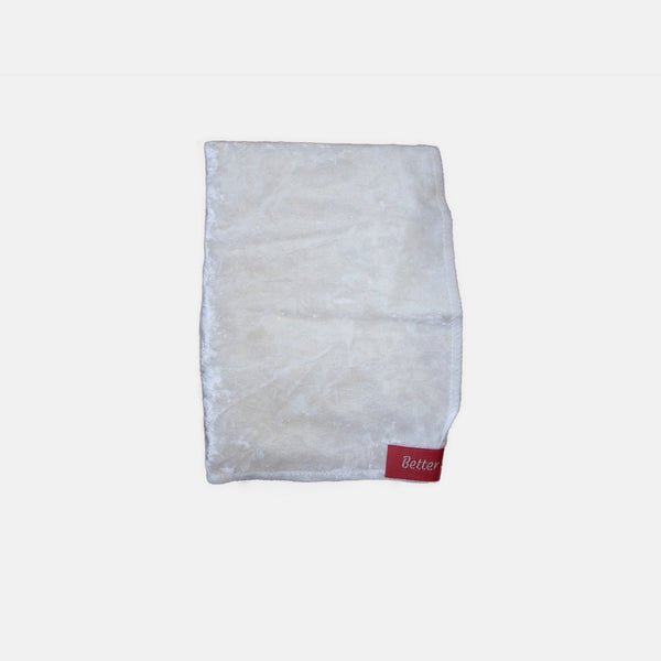 White Crushed Velvet Durag