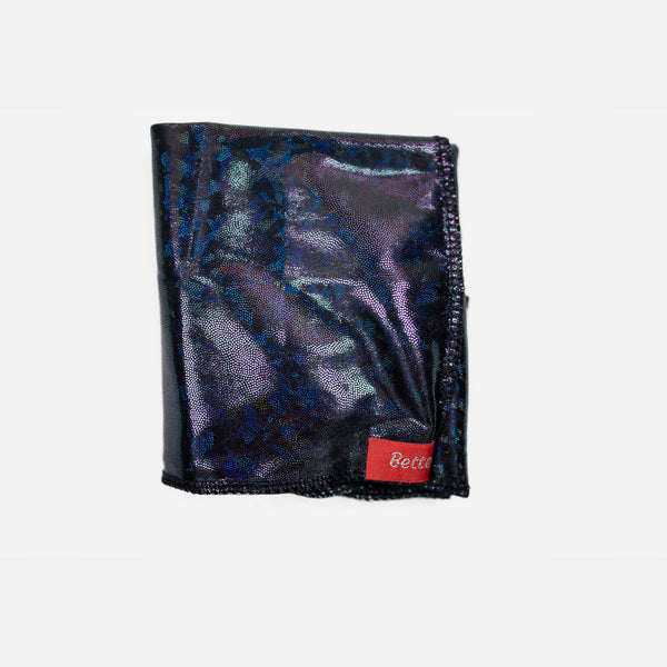 Black Stealth Holographic Durag