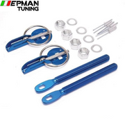 Racing Blue Hood Bonnet Pin Kit Aluminium For All Cars Lock Locking Sport New For Seat 2001-2006 EP-SP7220A-Blue