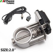 "2""/2.25""/2.5""/2.75""/3"" Exhaust Control Valve/ Exhaust cut out Valve - Low Pressure For Exhaust Catback Downpipe EP-CUT001A25 - epman-tuning"