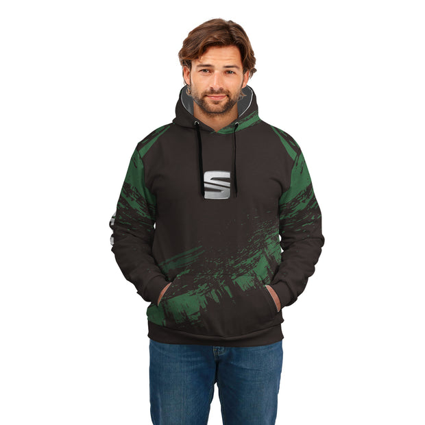 Top High Quality Custom Hoodie Seat Green
