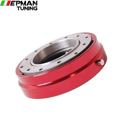 color RED Hot Selliing Thin Version Steering Wheel Quick Release (Blue,Red,Black,Golden,Silver,Purple) EP-CA0012-C
