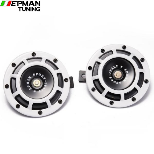 1Pair 12V 110DB Universal Grille Mount Twin SuperTone Electric Car Horn For BMW Audi VW Car EP-HOM052 - epman-tuning