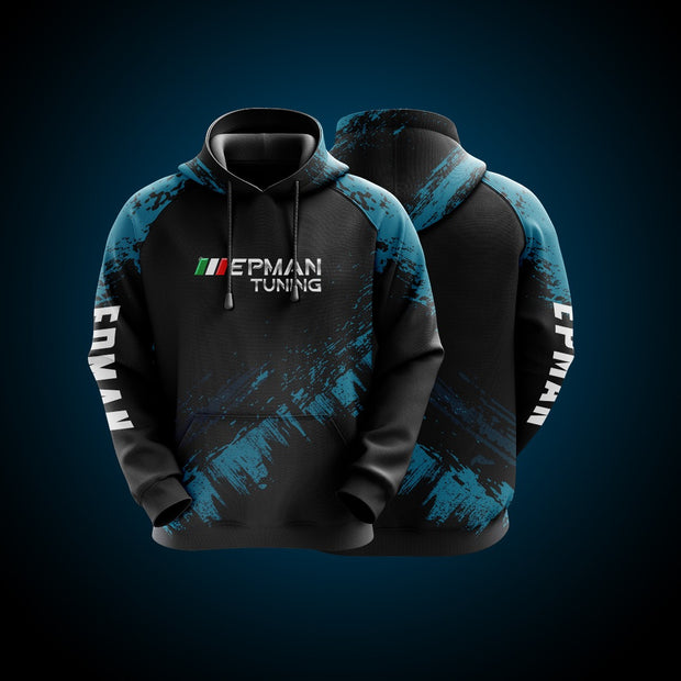Hight Quality Custom Hoodie EPMAN Blue