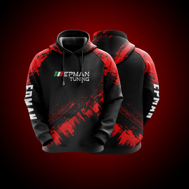 Top High Quality Custom Hoodie Epman Red