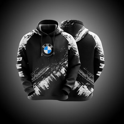 Top High Quality Custom Hoodie Bmw White