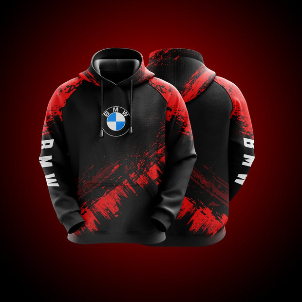 Top High Quality Custom Hoodie Bmw Red