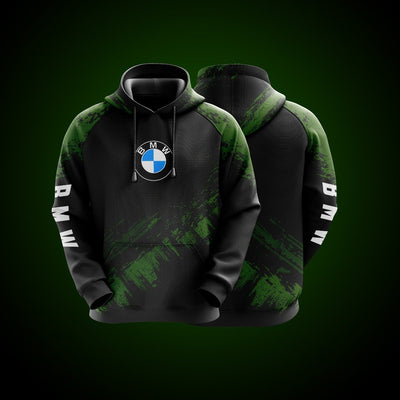 Top High Quality Custom Hoodie Bmw Green