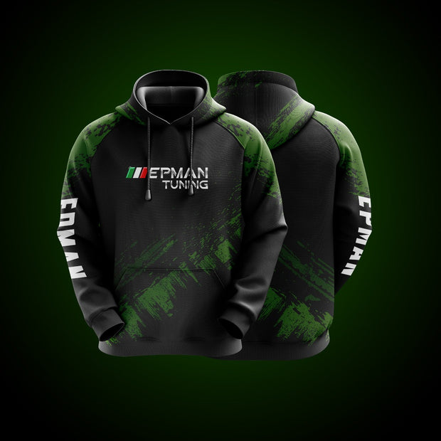 Hight Quality Custom Hoodie EPMAN Green