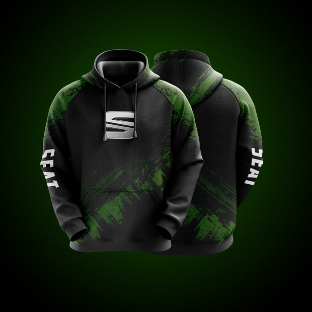 Hight Quality Custom Hoodie Seat Green
