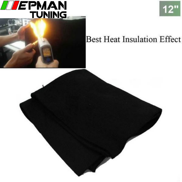 "Thermal Emergency Rescue Glass Fiber Fire Resistance Blanket Fire Blanket 12""x12"" For VW Golf GTI MK2 8V PB EP-WRMB12I"