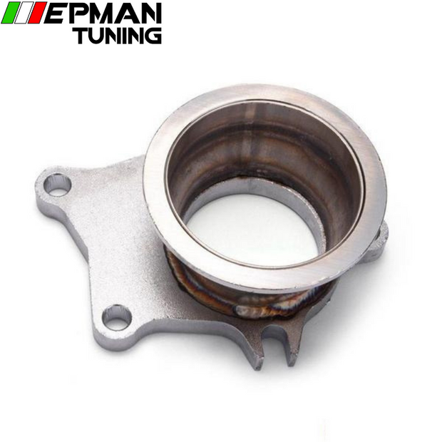 "Stainless Steel T04E T3/T4 5 Bolt Exhaust Dump Flange To 3"" 76mm Vband Adapter EP-CGQ127Z"
