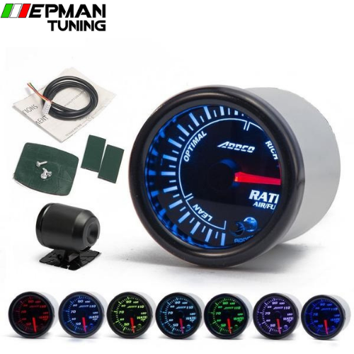 Manométre LED 7 Couleurs Air/Fuel Ratio 52mm