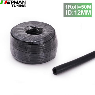 12MM x 50M Silicone Vacuum Vac Hose Pipe Tube Air Hose Pipe Black For BMW E39 5-Series (2000- ) EP-VS-12-1R - epman-tuning