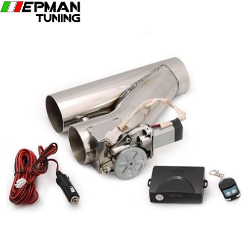 "2"" Stainless Steel Motorized Electric Exhaust Cutoff Bypass Valve Cutout+Remote For BMW E60 E61 5 SERIES 530d EP-CUTNEW20 - epman-tuning"