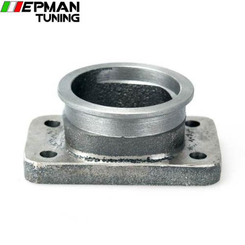 2.5''V-Band Adapter Flange For T3 4 Bolt Turbo Casting Iron V Band Adaptor For Toyota Acura Honda BMW  EP-CGQ151Z - epman-tuning