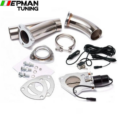 "2.75"" Electric Cutout/E-Cut Out Valve System W/O Switch for Exhaust Catback/Downpipe For BMW E39 5-Series  EP-CUTYXMM275 - epman-tuning"