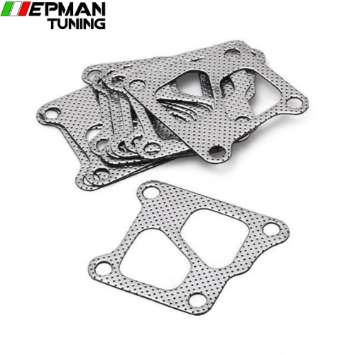 10PCS/LOT  Manifold & Turbo Gasket Set For Mitsubishi Lancer Evo 4 5 6 7 8 9 2.0 4G63 EP-CGQ48S - epman-tuning