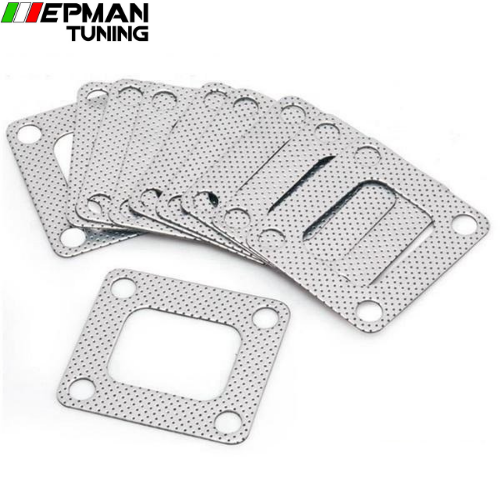 10PCS/LOT 3 layer composite Turbo gasket T4 exhaust turbine inlet manifold EP-CGQ27S - epman-tuning