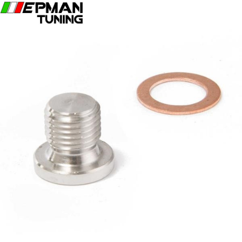 M12 x 1.25mm Oxygen o2 Lambda Sensor blanking Exhaust Plug Cap fits motorcycles and cars EP-CGQ144