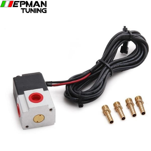 Kit Electrovanne 3 voies Boost Control Solenoide 12V