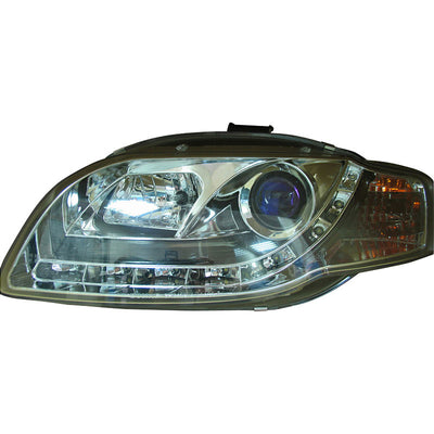 DRL-Look AU A4 05-08 Chrome