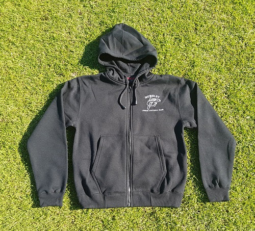Adult zip-front hoodie - Wembley Junior Football Club