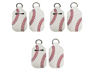 Baseball Hand Sanitizer Holder for Backpack Kids Travel Size Keychain - Daisy Lane Company