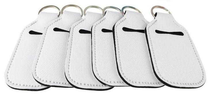 Blank Neoprene Hand Sanitizer Keychains Sublimation Supplies - Daisy Lane Company