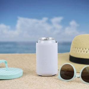 Blank White Neoprene Can Coolers Sublimation Supplies - Daisy Lane Company