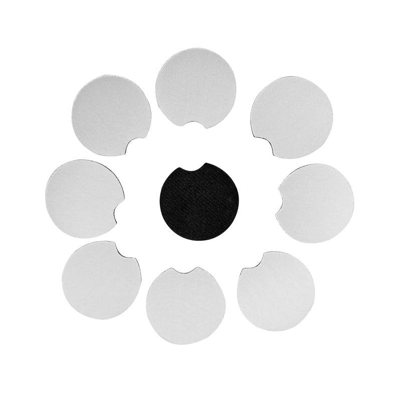 Blank White Neoprene Car Coasters Sublimation Supplies - Daisy Lane Company